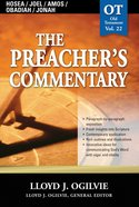 Hosea/Joel/Amos/Obadiah/Jonah (#22 in Preacher's Commentary Series) eBook