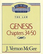 Thru the Bible OT #03: Genesis (Volume 3) (#03 in Thru The Bible Old Testament Series) eBook