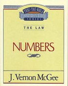 Thru the Bible #08: Numbers (#08 in Thru The Bible Old Testament Series) eBook
