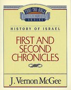 Thru the Bible OT #14: 1&2 Chronicles (#14 in Thru The Bible Old Testament Series) eBook
