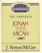 Thru the Bible #29: Jonah/Micah (#29 in Thru The Bible Old Testament Series) eBook
