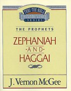 Thru the Bible OT #31: Zephaniah/Haggai (#31 in Thru The Bible Old Testament Series) eBook