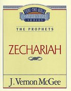 Thru the Bible #32: Zechariah (#32 in Thru The Bible Old Testament Series) eBook