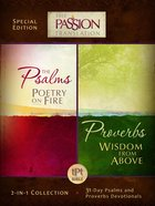 TPT the Psalms & Proverbs (Black Letter Edition) (2 In 1 Collection With Devotions) eBook