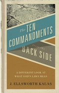 The Ten Commandments From the Back Side eBook