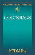 Colossians (Abingdon New Testament Commentaries Series) eBook