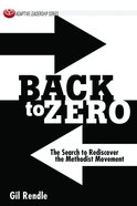 Back to Zero eBook