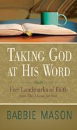 Taking God At His Word Preview Book eBook