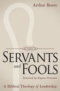 Servants and Fools eBook