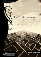 Critical Decisions (Student Guide) (Life Connections Series) eBook