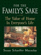 For the Family's Sake eBook