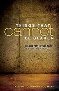 Things That Cannot Be Shaken eBook