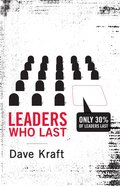 Leaders Who Last eBook