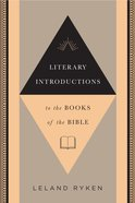 Literary Introductions to the Books of the Bible eBook