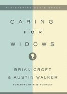 Caring For Widows eBook