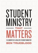 Student Ministry That Matters eBook