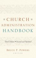 Church Administration Handbook (3rd Edition) eBook