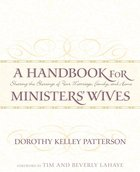 A Handbook For Minister's Wives eBook