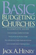 Basic Budgeting For Churches eBook