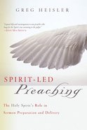 Spirit-Led Preaching eBook