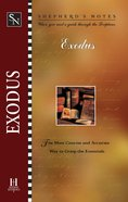 Exodus (Shepherd's Notes Series) eBook