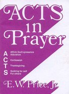 Acts in Prayer eBook