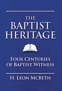 The Baptist Heritage eBook