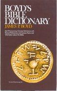 Boyd's Bible Dictionary eBook