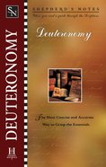 Deuteronomy (Shepherd's Notes Series) eBook