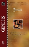 Genesis (Shepherd's Notes Series) eBook