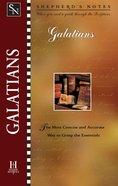 Galatians (Shepherd's Notes Series) eBook
