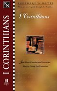 1 Corinthians (Shepherd's Notes Series) eBook