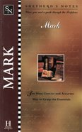 Mark (Shepherd's Notes Series) eBook