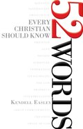 52 Words Every Christian Should Know eBook