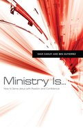 Ministry Is... eBook