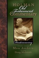 Deuteronomy (#03 in Holman Old Testament Commentary Series) eBook