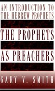 The Prophets as Preachers eBook