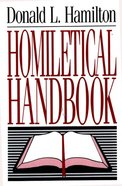 Homiletical Handbook eBook