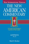 Leviticus (#03A in New American Commentary Series) eBook