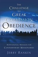 The Challenge to Great Commission Obedience eBook