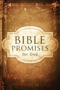 Bible Promises For Dad (Hcsb) eBook