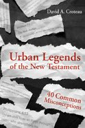 Urban Legends of the New Testament eBook