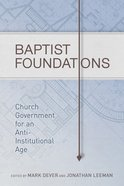 Baptist Foundations eBook