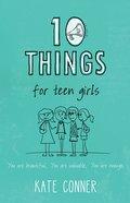 10 Things For Teen Girls eBook