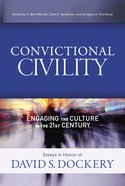 Convictional Civility eBook