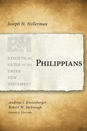 Philippians (Exegetical Guide To The Greek New Testament Series) eBook