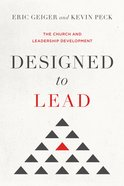 Designed to Lead: The Church and Leadership Development eBook