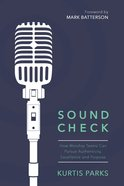 Sound Check eBook