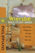 Philippians (Wiersbe Bible Study Series) eBook