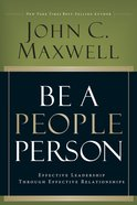 Be a People Person eBook